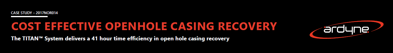 Cost Effective Openhole Casing Recovery with the TITAN System